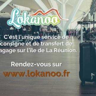 Consigne bagage île de la Réunion prêt de l'Aéroport Roland Garros