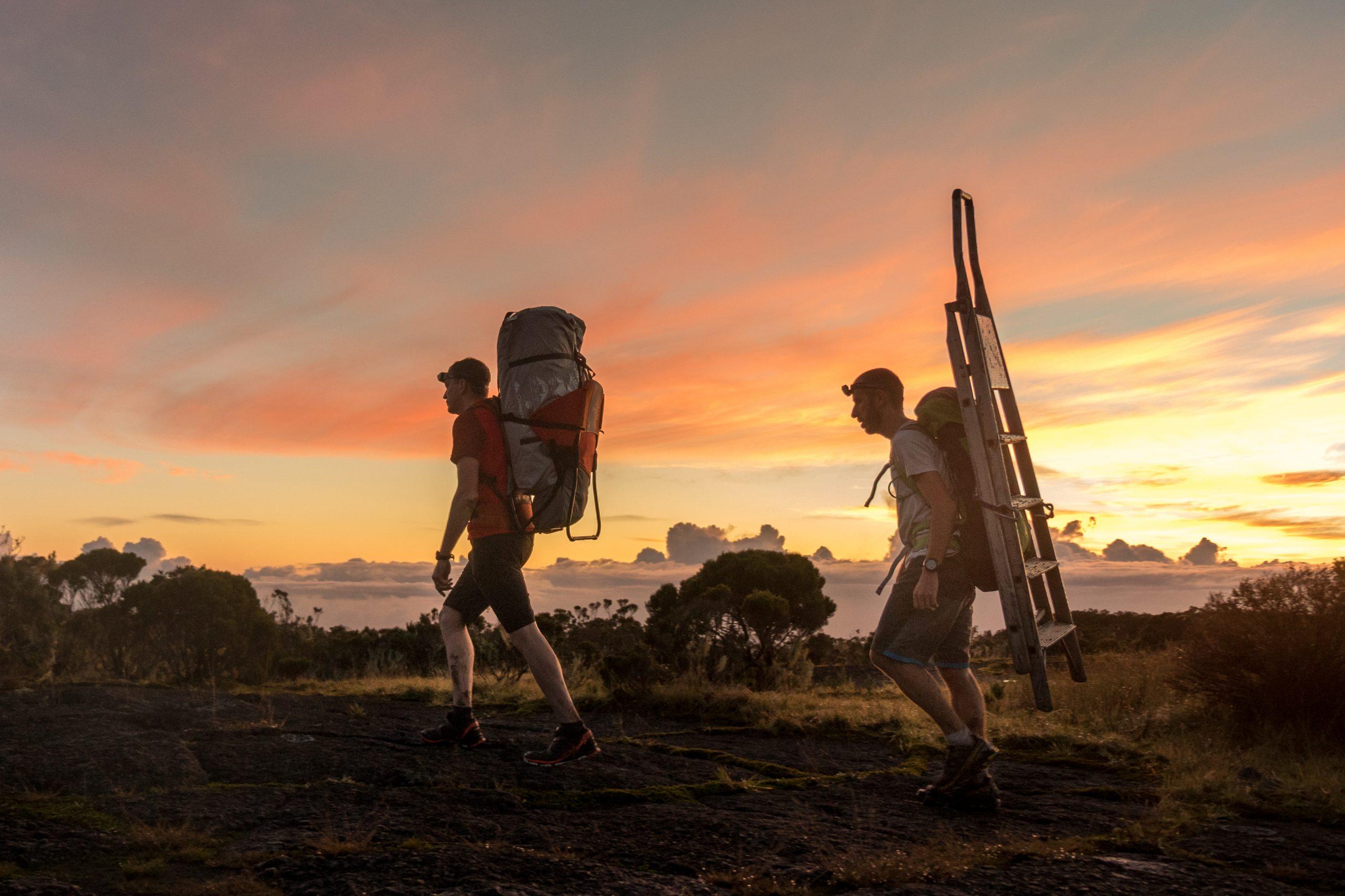 Livraison pédestre La Réunion