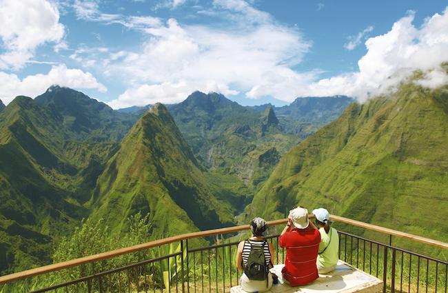 randonnées roche vert bouteille La Réunion
