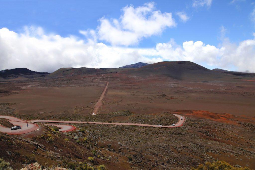 Route des sables Piton de la fournaise la Réunion