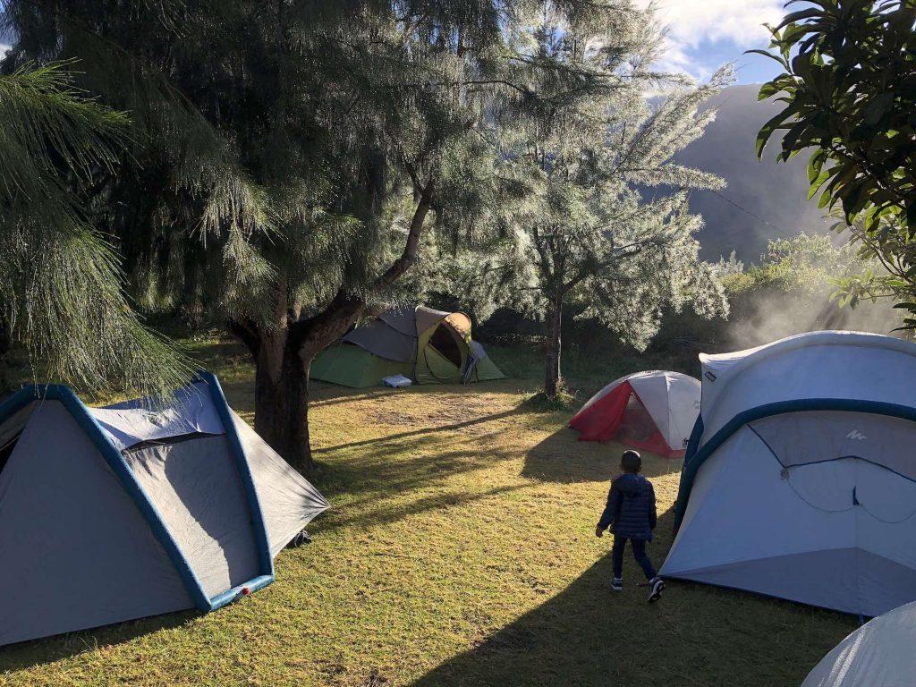 camping à cilaos