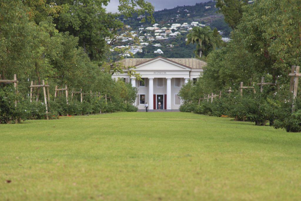 Jardin de l'état à Saint-Denis La Réunion