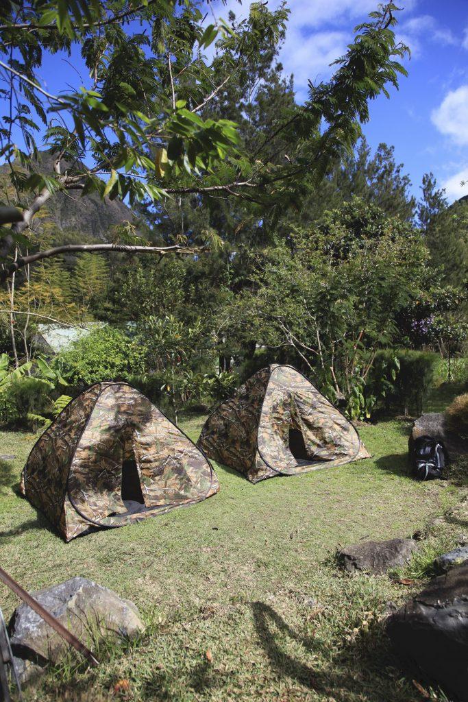 camping tente cirque de mafate lokanoo