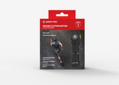 Lampe frontale wizard v5
